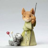 Buy cheap Mouse Figure - Shepherd Mouse with Lamb from wholesalers