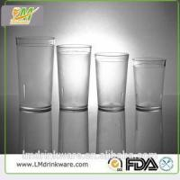 Quality BPA Free Acrylic Clear 350ml And 470ml Plastic Beverage Tumblers for sale