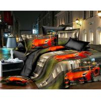 Quality 100% cotton printed 3D bedding set for sale
