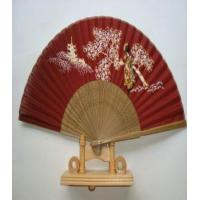 Quality elegant silk bamboo hand fans for sale