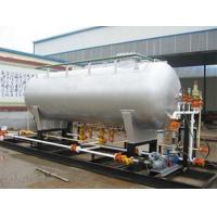 LPG skid installed factory