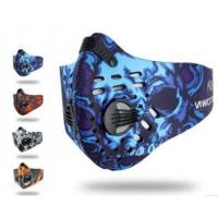 Quality 30005 Colored Activated Carbon Cycling Mask for sale