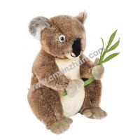 Quality Koala Plush Toys|stuffed Toys Brown Grey Colors, Mother Embracing Child for sale
