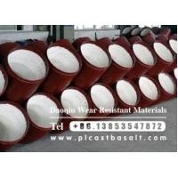 Quality alumina ceramic lined steel pipe to be delivered for sale