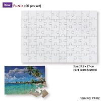 China More Gift Items Personalized Photo Puzzle in 60 Pcs Sets on sale
