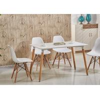 Quality Fashion Design wooden and plastic dining table 1541F for sale