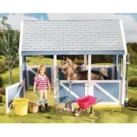 Quality Breyer Horses Classics Size Horse Stable Cleaning Play Set for sale