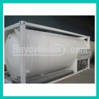 Quality Natural Gas LOX/LIN/LAr 20FT ISO TANK CONTAINER 20M3-16Bar-D for sale