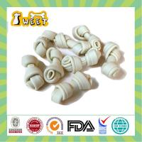 China Best Chew Knotted Bone White Dog Treats on sale