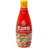 Quality Condiments Vinegared Red Pepper Paste for Sushi - 17.98oz for sale