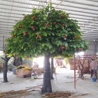 China Artificial apple tree on sale