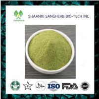 Quality factory directly supply food color wheat grass juice powder for sale