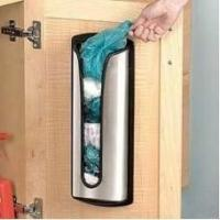 Quality Stainless Steel Carrier Bag Storage Tidy Holder for sale