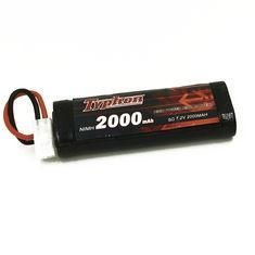 Buy TYPHON 7.2V 2000mAh 6 Cell NiMh Battery with JST at wholesale prices