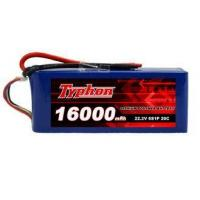 Quality TYPHON POWER 16000mAh 22.2V 6S1P 20C Lipo Battery Pack for sale