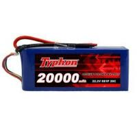 Quality TYPHON POWER 20000mAh 22.2V 6S1P 20C Lipo Battery Pack for sale