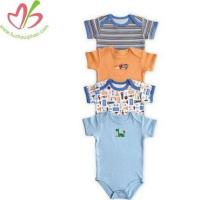 China New Born Cotton Baby Onesies Clothes on sale