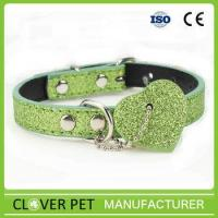 Quality Luxury PU Leather Dog Collar for sale
