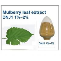 Quality Mulberry Leaf Extract 1-DNJ 1%~2% HPLC for sale