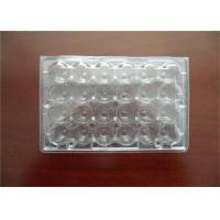 Quality Professional Plastic Quail Egg Trays , Clear Plastic Egg Cartons With Holes for sale