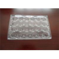 Disposable PET Plastic Quail Egg Cartons Transport Storage Approved