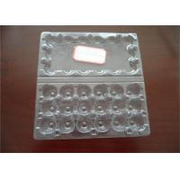Quality Hatching Clear Egg Cartons Tray With Lid , Egg Tray Plastic For Egg Packaging for sale