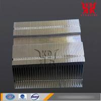 China CNC Machining Aluminum Heat Sink Made of Alloy 6063 with Copper Sintered Heat Pipes on sale