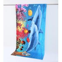 Quality Wholesale 100% Cotton Reactive Printed Beach Towel Round Towel for sale