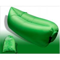 Quality Outdoor Fast Inflatable Laybag Air Sleeping Lazy Bag Hangout Lounger Sofa for sale