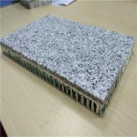Quality 7mm Granite Stone Honeycomb Composite Panels Backed with Aluminum Honeycomb Panels for sale