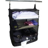 Packable Hanging Shelves and Travel Organizer