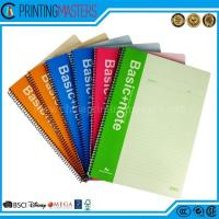 Latest Design Spiral Binding Student Notebook Printing