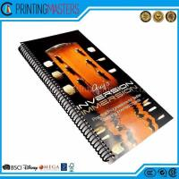 Full Color Cheap Custom High End Spiral Book Printing