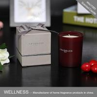 Scented candle in glass jar with gift box-WNJ17263