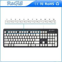 Quality Logitech Wired USB Chocolate Waterproof Keyboard for sale