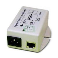 48V POE Injector with Current Indicator and 48V/500mA Output Power and Surge Protection