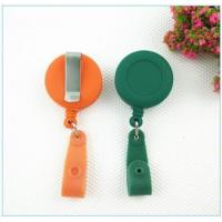 Quality Bottle opener Rubber process oil treated retractable badge reel 005 for sale