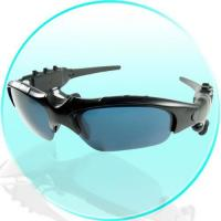 China Bluetooth MP3 Player Sunglasses with 1GB Flash Memory on sale