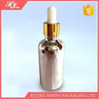Quality 100ml Silvery Glass Bottle with Dropper for sale