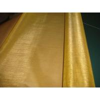 Quality Steel pipe Brass wire mesh for sale