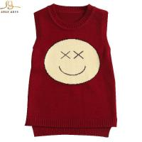 Quality Cotton + viscose knitted kids vest for sale
