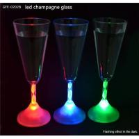China Party Favor LED Champagne Glass on sale