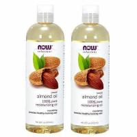 Quality Now Foods Almond Oil 16oz 2-pack Total 32oz. for sale