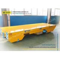 Steel Rail Towed Cable Industrial Transfer Trolley For 1-300 Ton Transportation