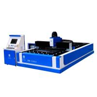 Quality 500W single drive open type fiber laser cutting machine for sale