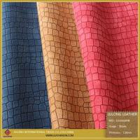 Quality Sheep and Wool Imitation Stone Pattern Leather for sale