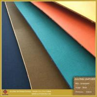 Quality Brush-off Thick PU Leather for Shoes for sale