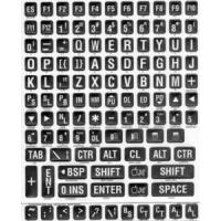 Quality Braille & Large Print Sticker Keyboard Labels for sale