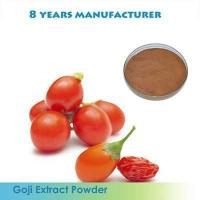 Quality Goji extract Black wolfberry Extract Anthocyanin 17%-25% for sale