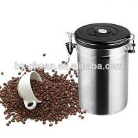 Quality 500 Piece/Pieces stainless steel coffee canister for sale